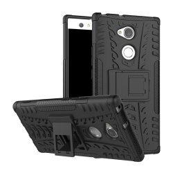 Sony Xperia XA2 Ultra Cover Armor DäckMønster Sort